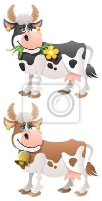 Obraz krowa