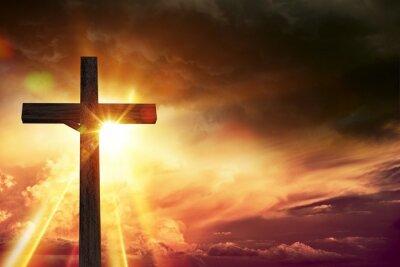 Obraz Krucyfiks Blessing Światła
