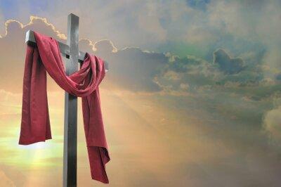 Obraz Krzyż na tle nieba