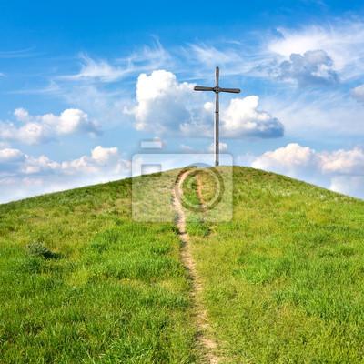 Krzyż na wzgórzu