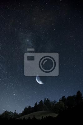 Księżyc i gwiazdy