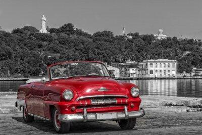 Obraz Kuba Casablanca Havanna sw