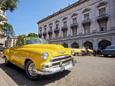 Obraz Kuba, Hawana Oldtimer mit