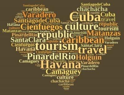 Obraz Kuba turystyka.