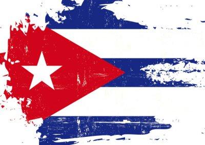 Obraz Kubański Oznacz porysowany