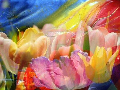 Obraz Kwiat-flow