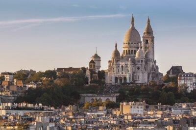 Obraz La Bazylika Sacré-Coeur de Montmartre