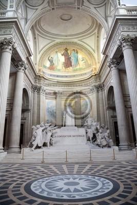 La Convention pomnik Nationale w Panteonie w Paryżu.