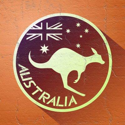 Obraz ładne ikony australia