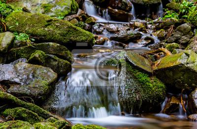 ładny górski potok