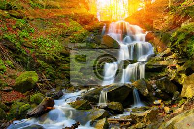 ładny wodospad