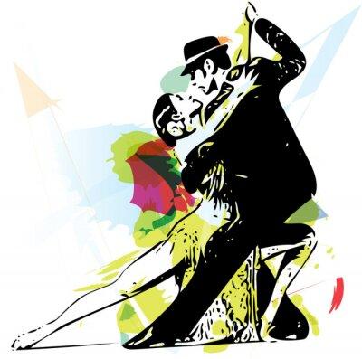 Obraz Latino Taniec para