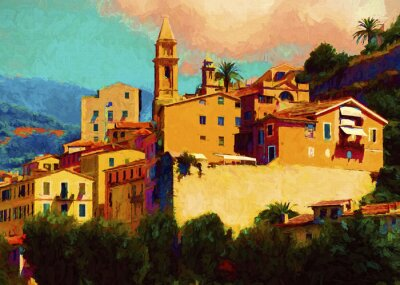 Obraz Liguria krajobraz