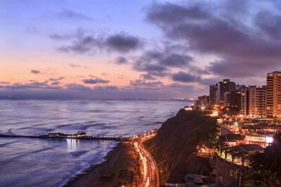 Obraz Lima nocą