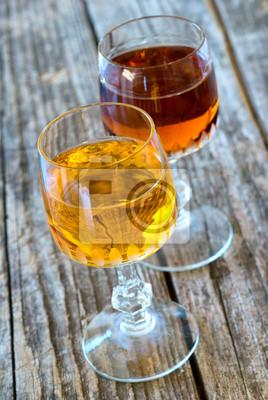 liquore all 'Albicocca e amaro - likier morelowy