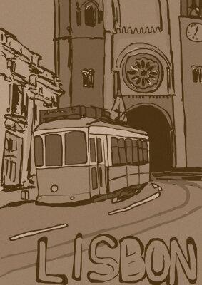 Obraz Lisbon vintage