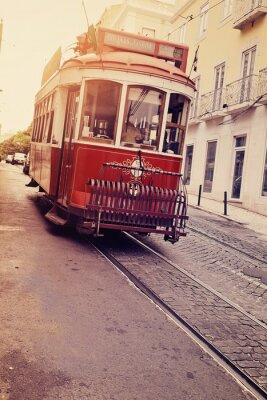 Obraz Lisbonne (électrique tramwaj)