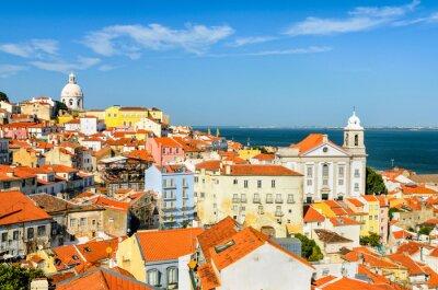 Obraz Lizbona centrum, Portugalia