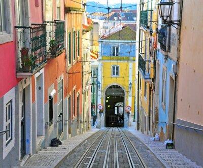 Obraz Lizbona linowa Bica