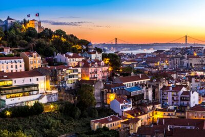 Obraz Lizbona w nigth