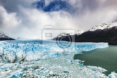 Lodowiec Perito Moreno, Argentyna: październik 2013.