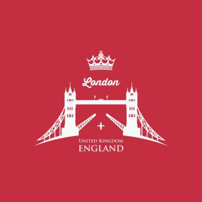 Obraz London Tower Bridge symbolem