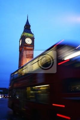Londyn, autobus è Big Ben