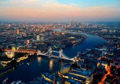 Obraz Londyn noc