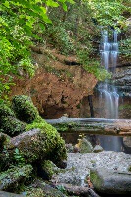 Obraz Lost Creek Falls, Lost Creek State Natural Area, Tennessee