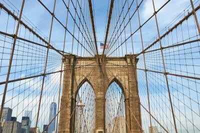 Obraz Lower Manhattan skyline widok z Brooklyn