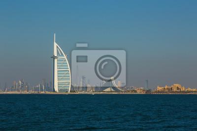Obraz luksusowy hotel Burj Al Arab