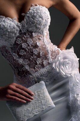 Obraz luxe panna młoda w sukni kształtowego, Katalog zdjęcie