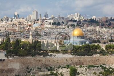 Majestatyczna panorama Jerozolimy