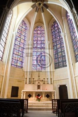 Mała kaplica wewnątrz Katedra w Chartres, Francja