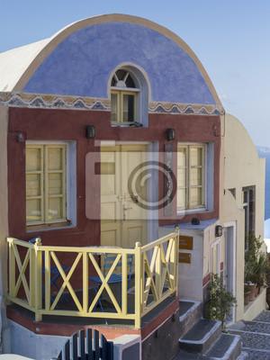 malowane sklep na Santorini