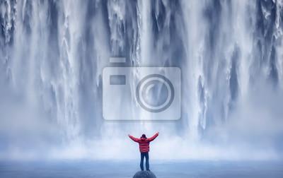 Obraz Mand and Nature II - ISLANDIA