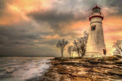 Obraz Marblehead Lighthouse HDR