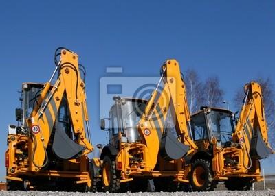 Obraz Maszyny budowlane