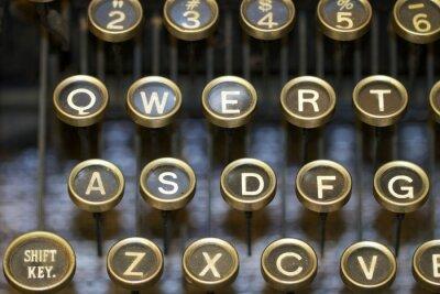 Obraz maszyny do pisania / klawisze
