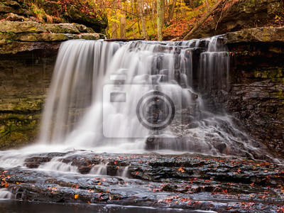 McCormick Creek Falls w Fall
