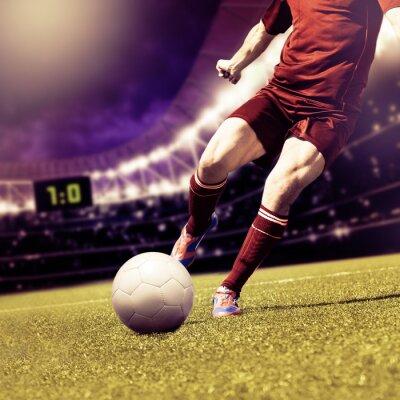 Obraz meczu piłki nożnej