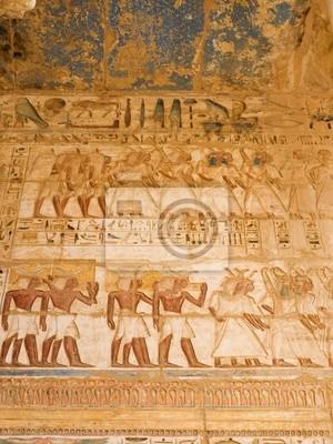 Medinet Habu Temple. Teby. Egipt series