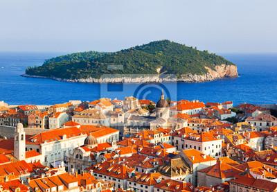 Miasto Dubrownik oraz wyspy w Chorwacji