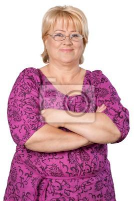 Obraz middle-aged woman portrait