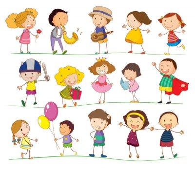 Obraz Mieszane dzieci