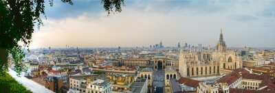 Obraz Milano Centro Panoramica