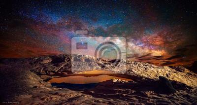 Obraz Milky Way w Mesa Arch