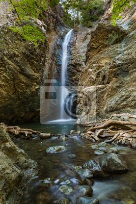 Millomeris Waterfalls in Cyprus