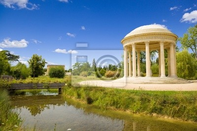Miłość świątyni i river of Versailles Chateau, Francja