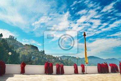 Mnisi z klasztoru indyjskich